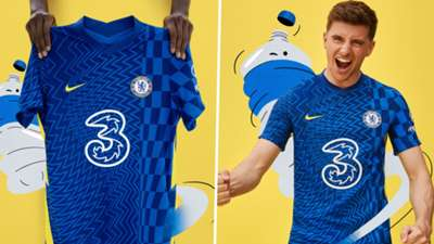 Chelsea 2020-21 home kit Mason Mount