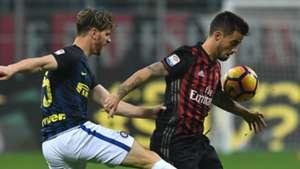 Suso Ansaldi Milan Inter Serie A