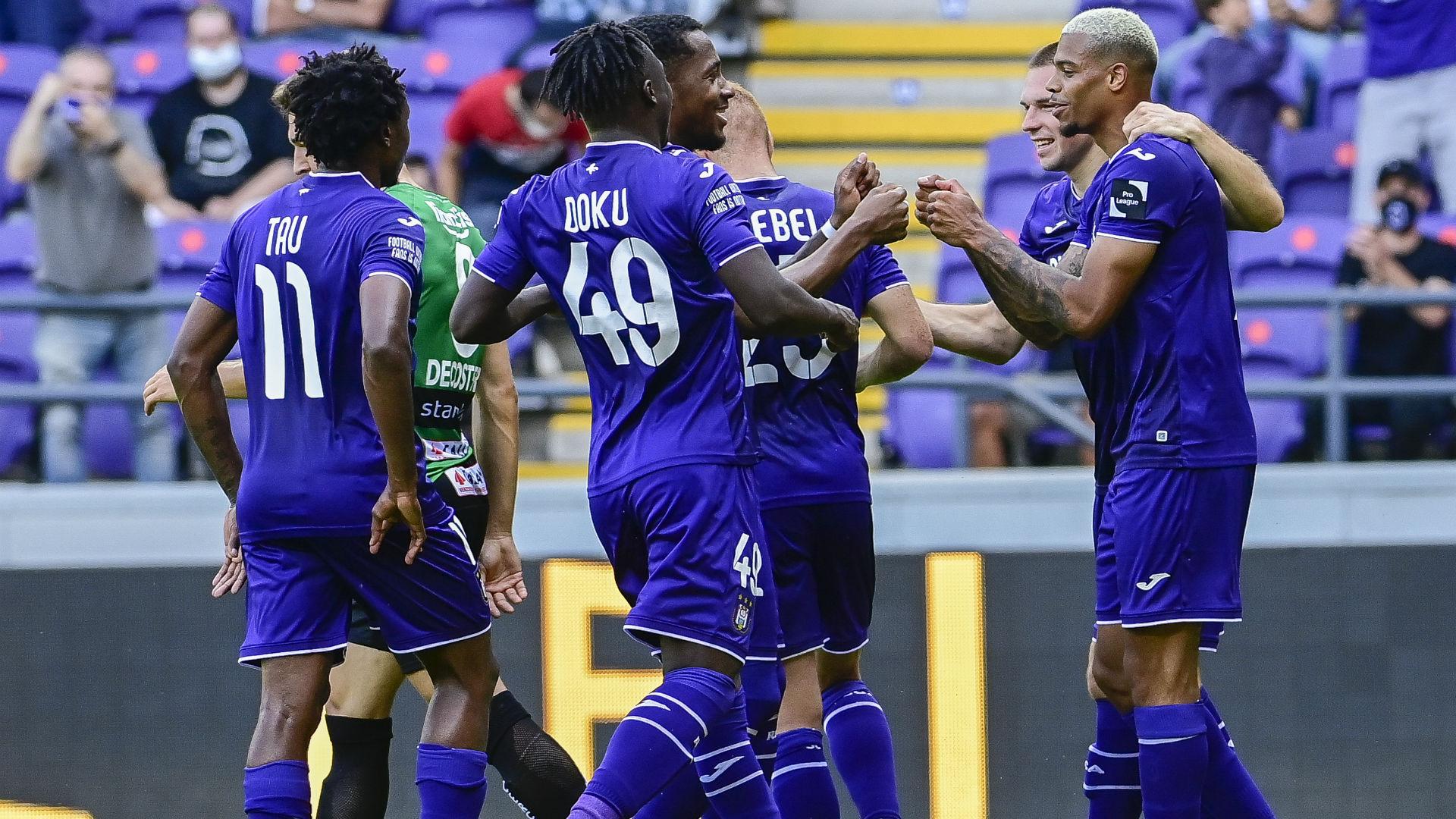Percy Tau scores to help Anderlecht return to winning ways against Kortrijk