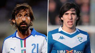 Andrea Pirlo, Sandro Tonali
