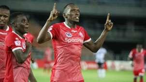 Meddie Kagere of Simba SC.