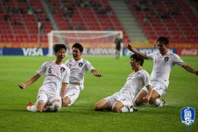 U-20 월드컵 남아공전 김현우 득점