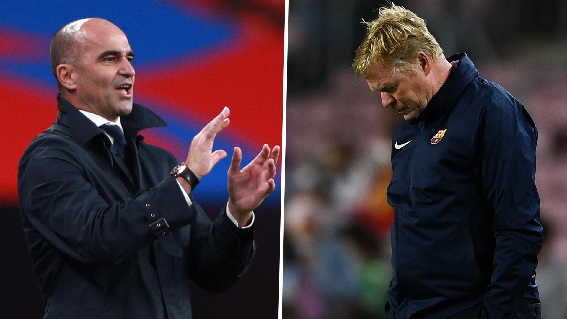 Barcelona look for best moment to sack Koeman and make Martinez a priority to become coach