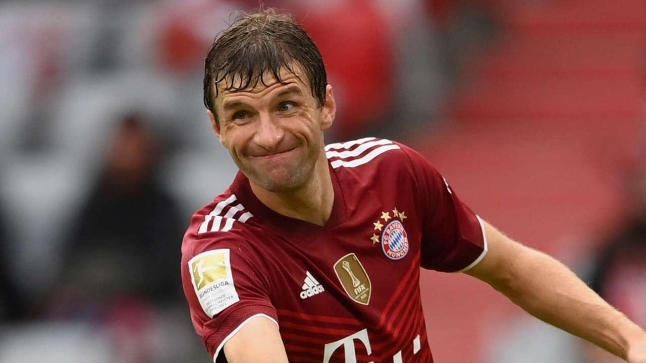 Thomas Muller Bayern 2021-22