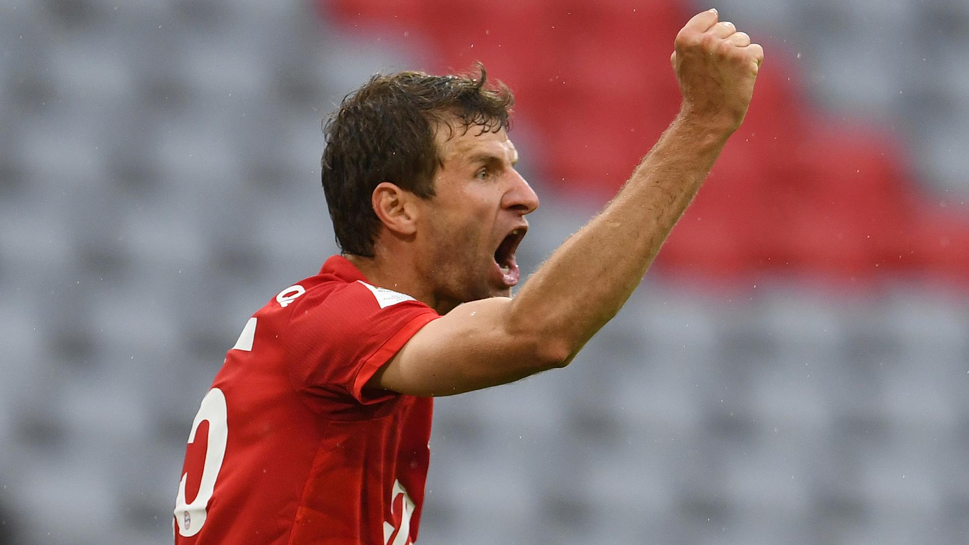 Muller matches De Bruyne's Bundesliga assist mark as Sancho closes ...