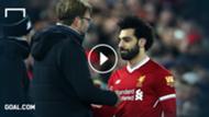 GFX Jürgen Klopp Mohamed Salah Liverpool