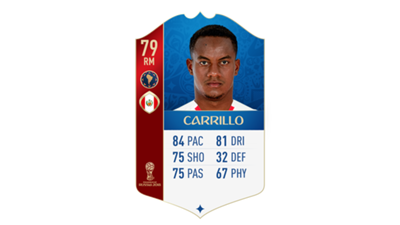FIFA 18 World Cup CONMEBOL Ratings Carrillo