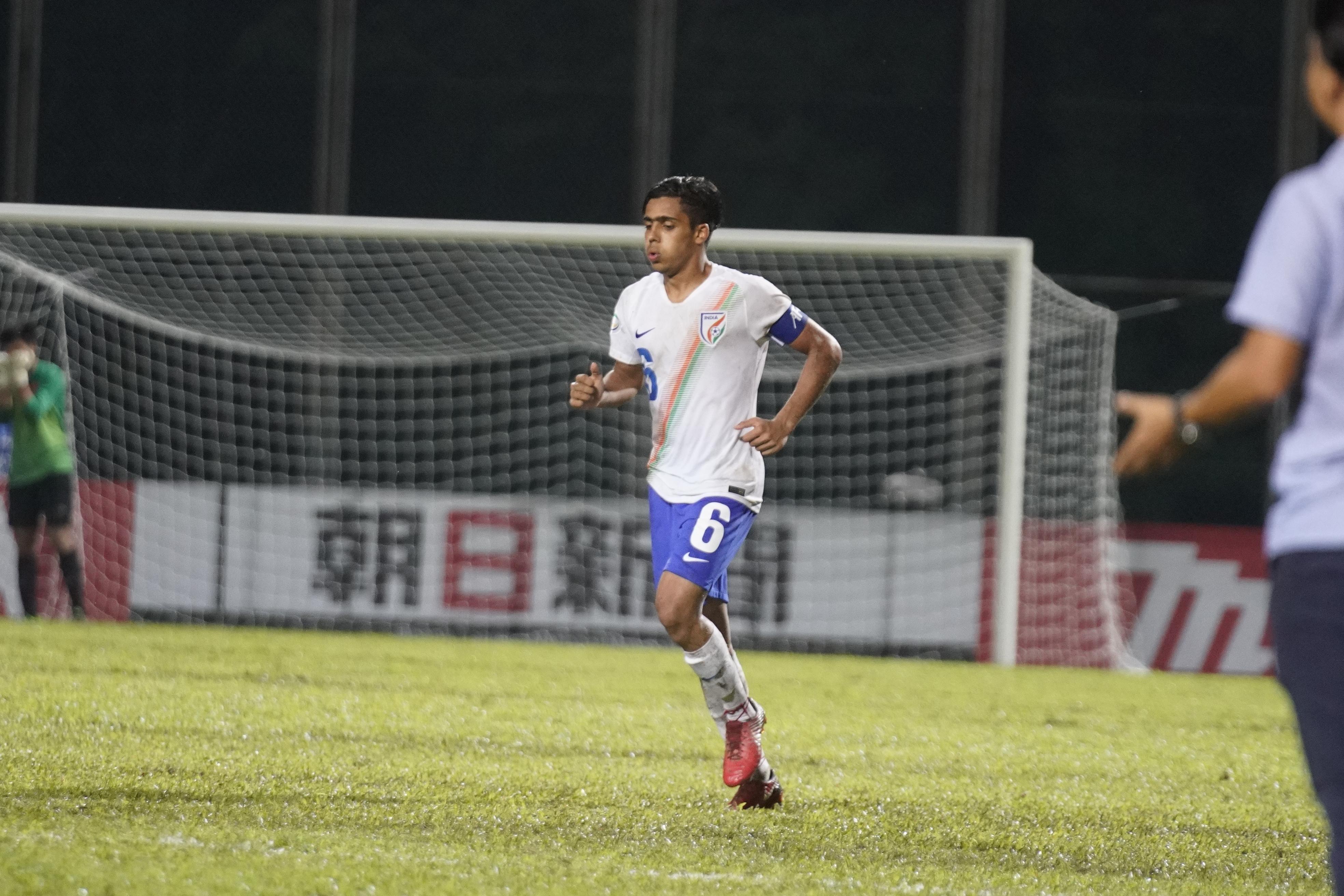 Vikram Pratap Singh India U-16