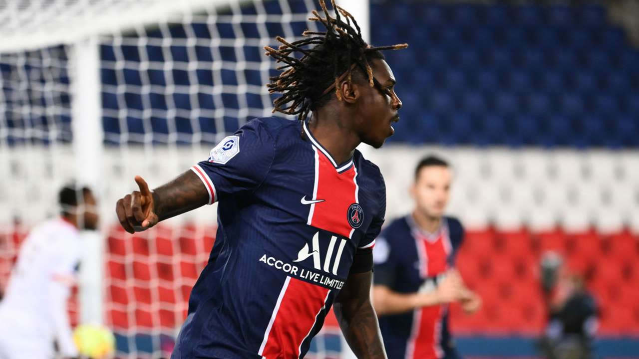 Moise Kean PSG Dijon Ligue 1 24102020