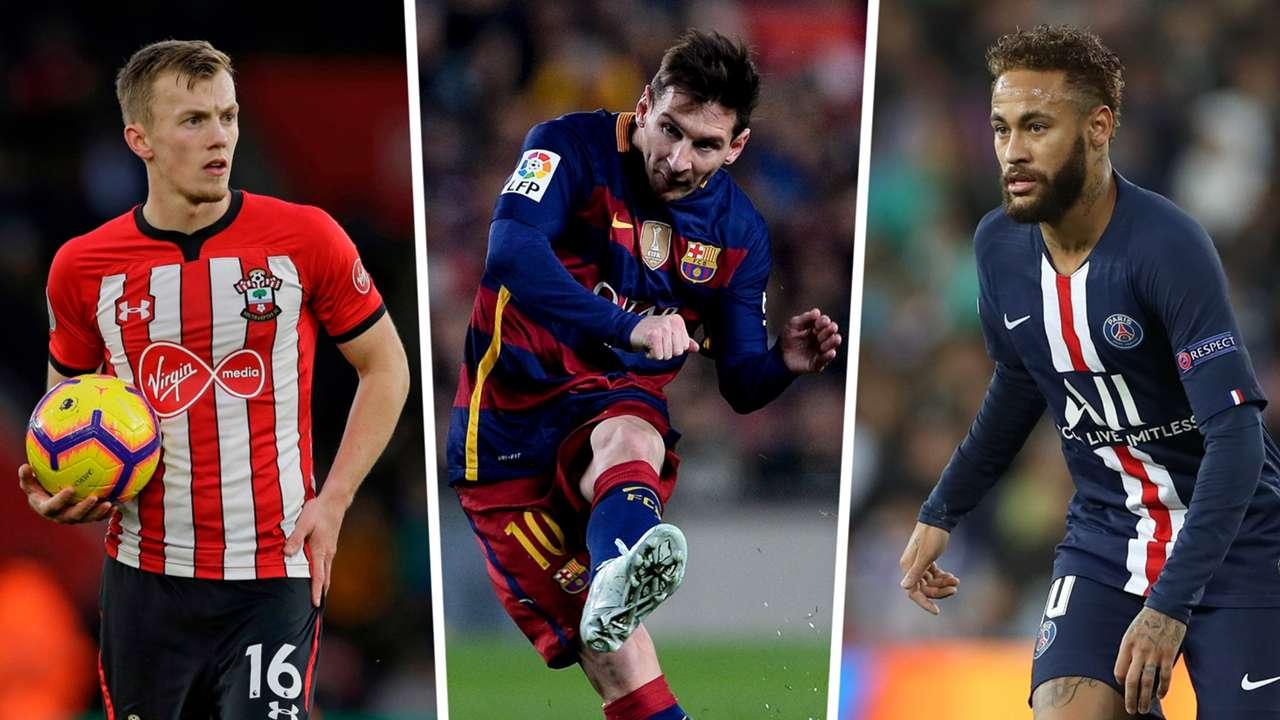 Ward Prowse Messi Neymar FIFA 21