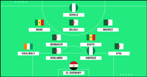 AFCON Team of the Tournament