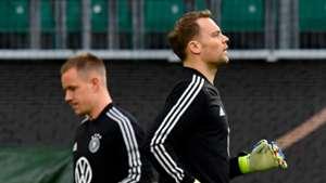 Marc-Andre ter Stegen & Manuel Neuer