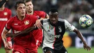 Juventus Bayer Leverkusen matuidi