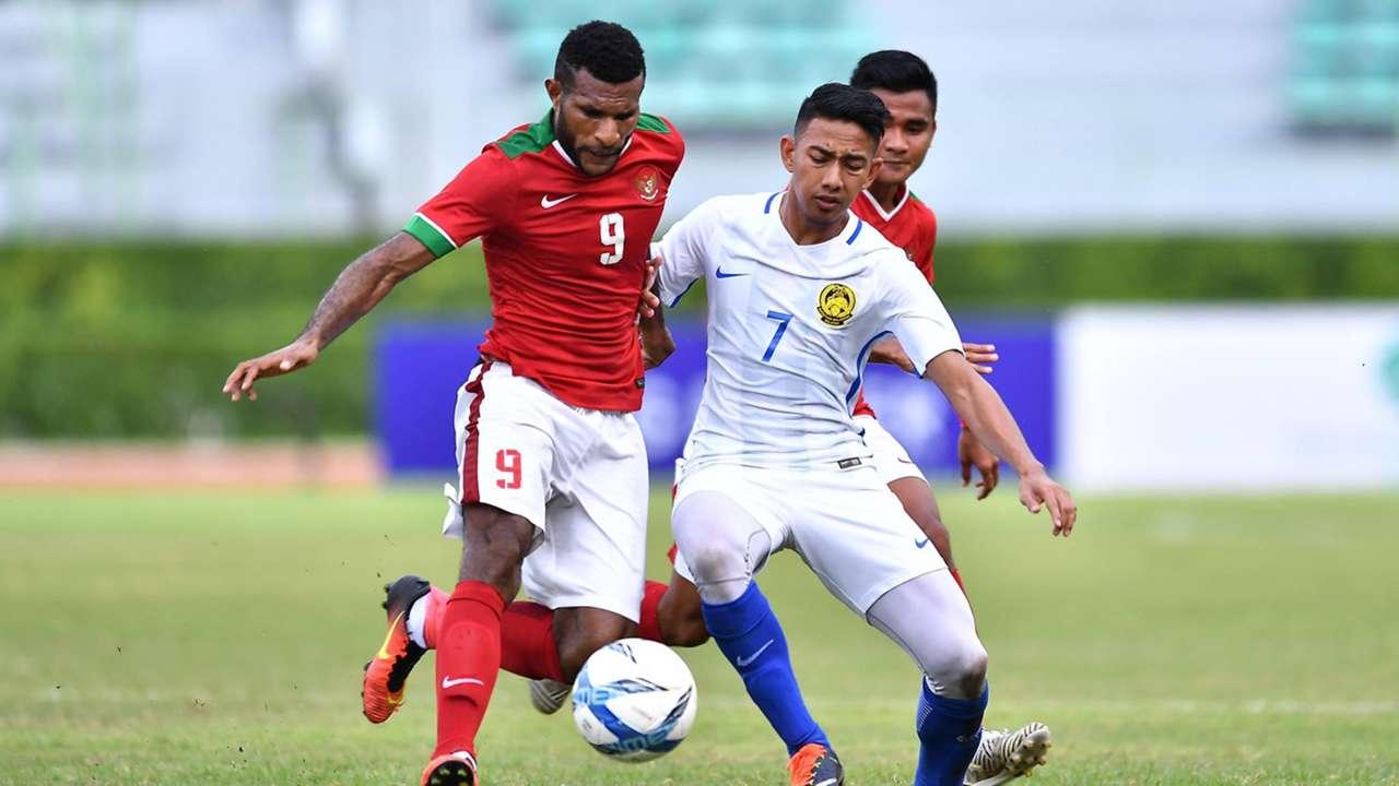 Kualifikasi Piala Asia U-23 2018: Marinus Maryanto Manewar & Muhammad Amirul Hisyam - Indonesia & Malaysia