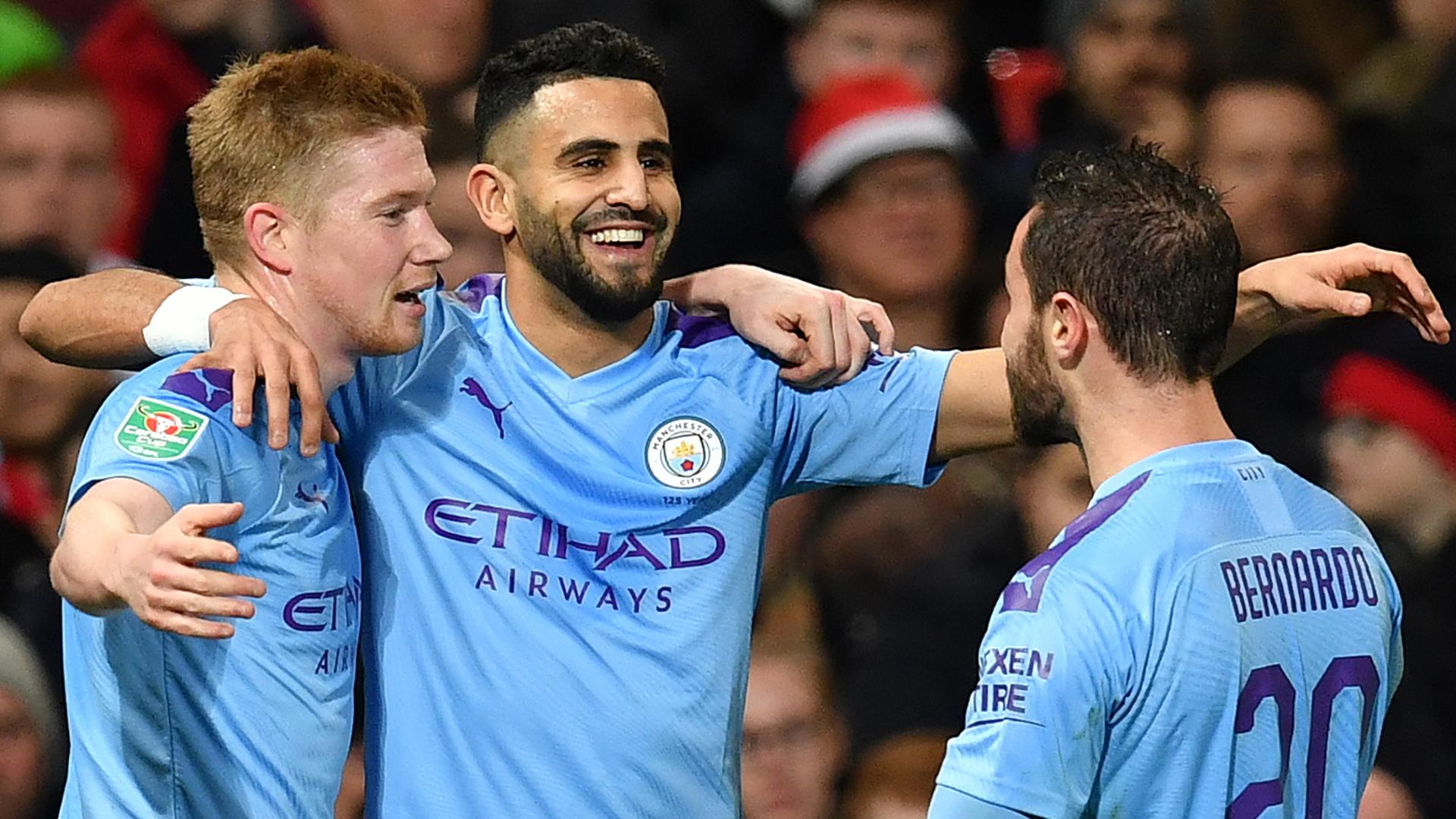 Can Mahrez lead Man City attack like Mane and Salah at Liverpool?