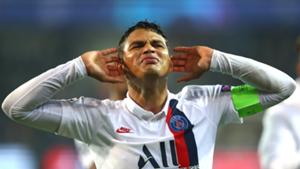 Lille-PSG - Thiago Silva sort à la pause