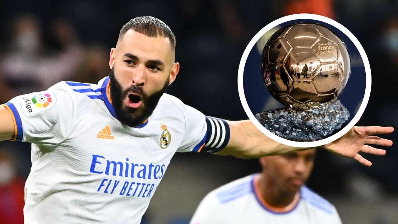 Karim Benzema Real Madrid Ballon d'Or GFX