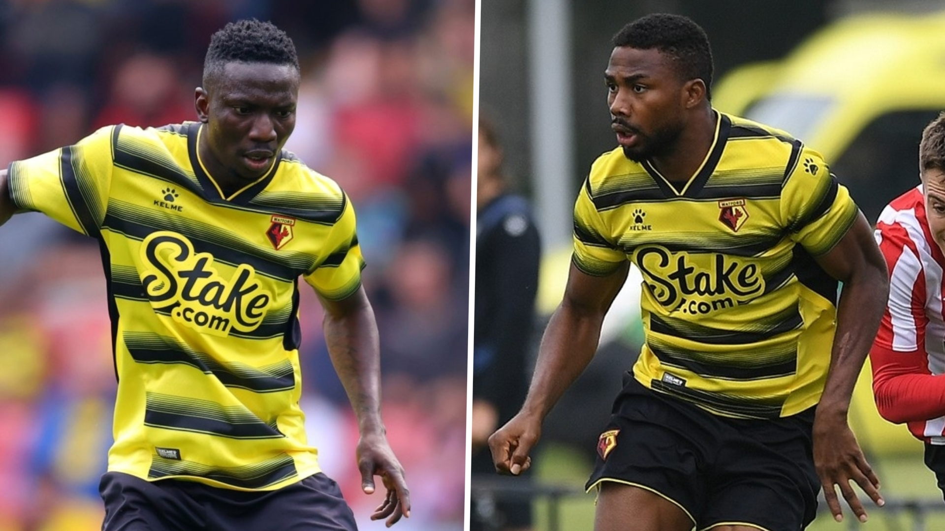 Watford reveal Dennis and Etebo's jersey numbers