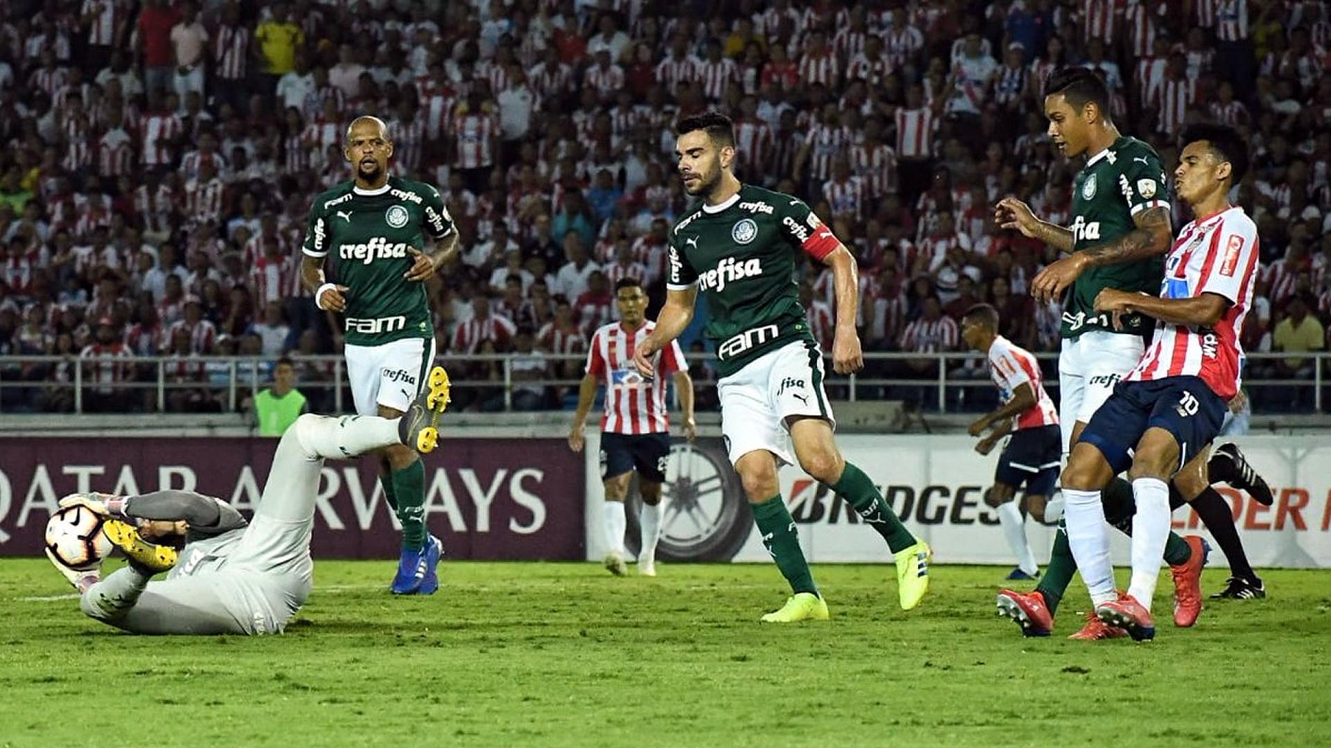 Junior de Barranquilla Palmeiras Copa Libertadores 2019