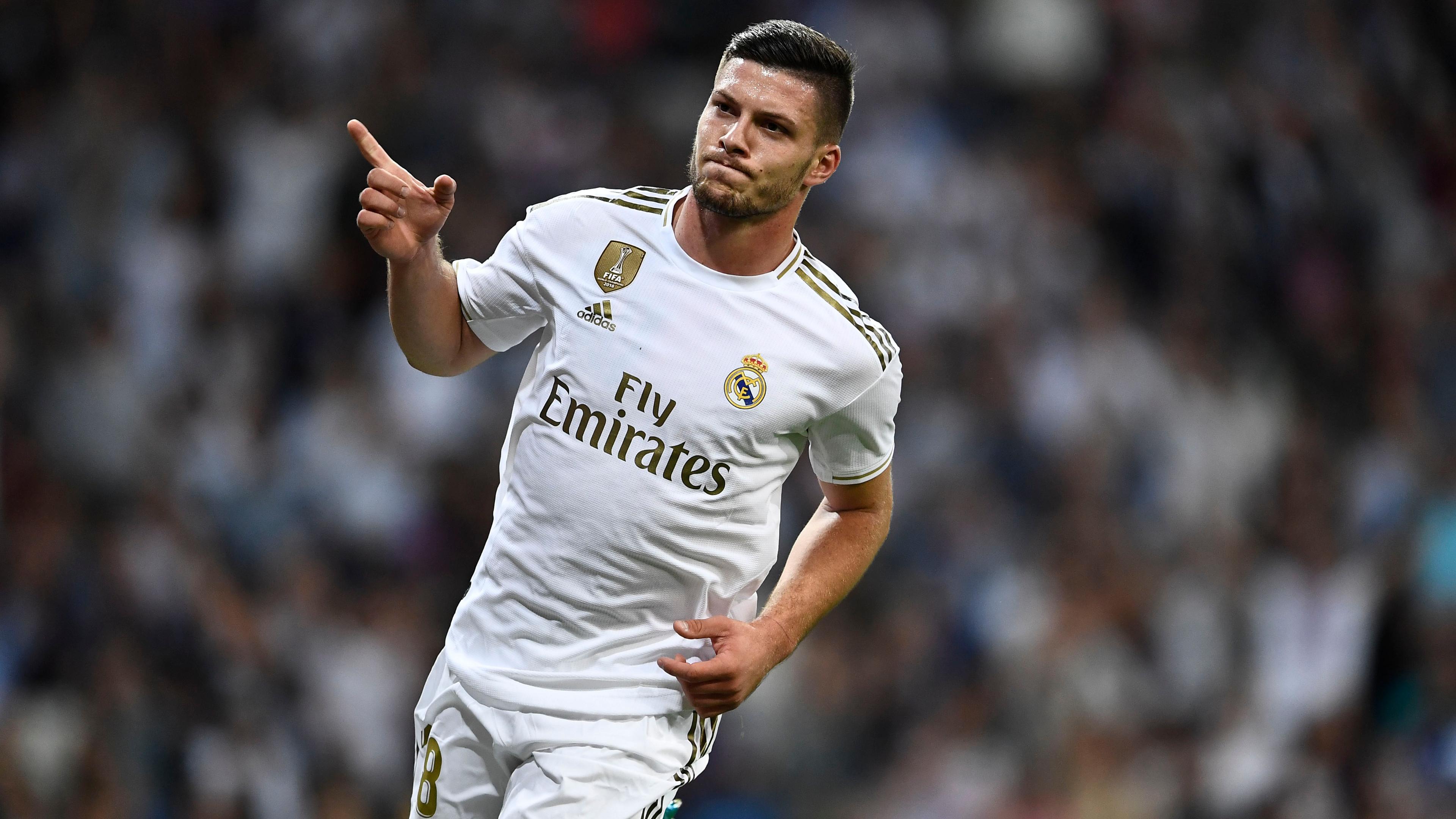 Luka Jovic Real Madrid 2019