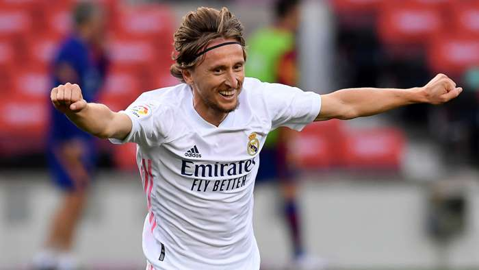 Luka Modric Real Madrid 2020