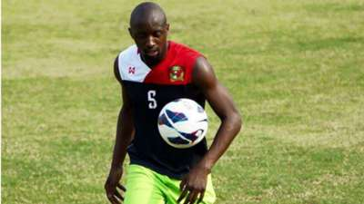 Harambee Stars defender Lawrence Olum.