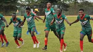 KCCA of Uganda celebrates winning title.