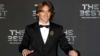 Luka Modric FIFA THE BEST AWARD 2018