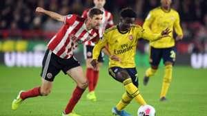 Sheffield United vs Arsenal, Bukayo Saka