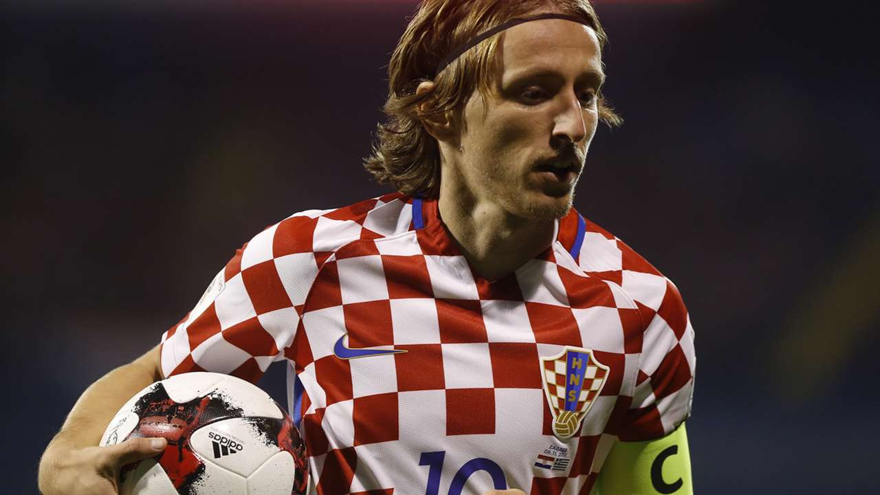 Luka Modric Croatia national team 2017