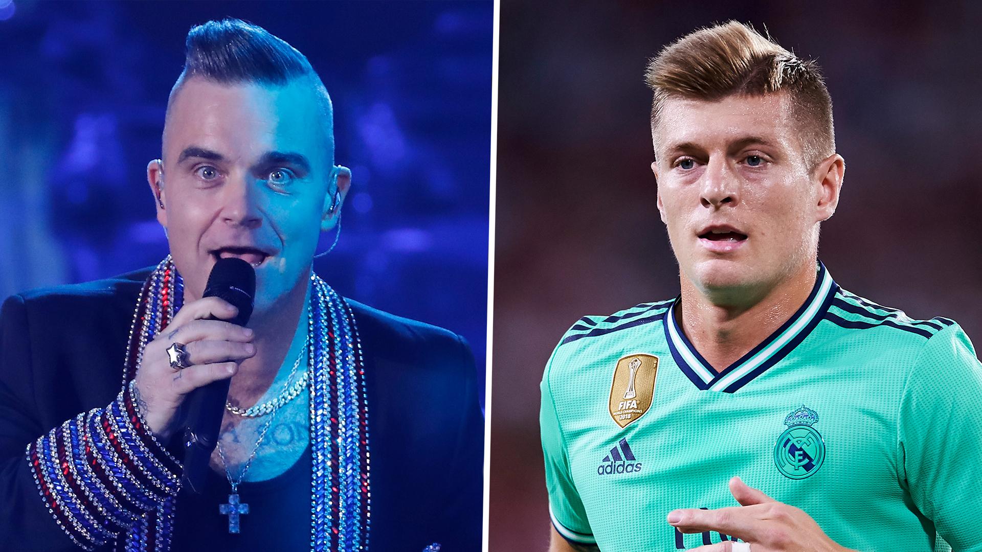 Rayu Toni Kroos Gabung Manchester United Robbie Williams