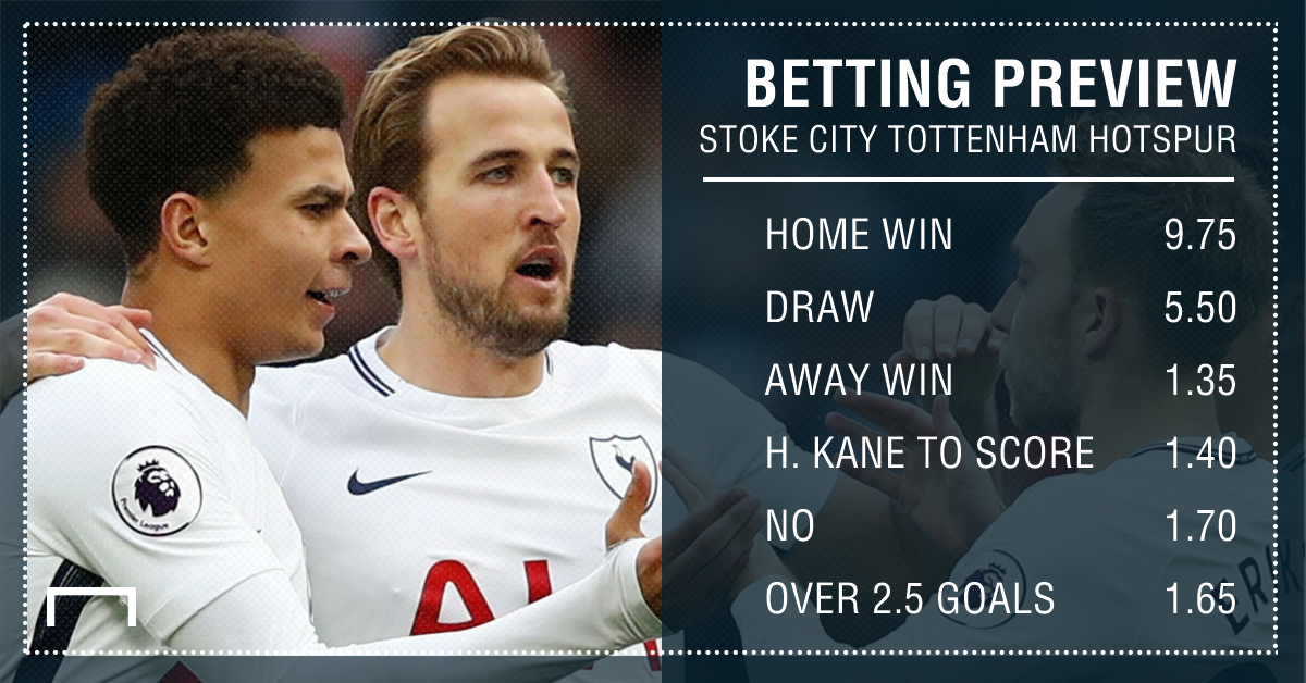 Stoke v tottenham betting preview pro football betting strategies for blackjack