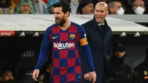 Messi Zidane Real Madrid Barcelona LaLiga