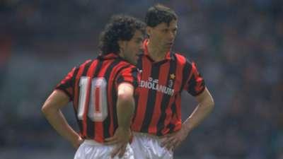 Marco Van Basten Roberto Donadoni AC Milan