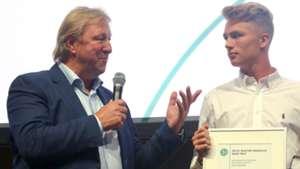 Horst Hrubesch Jann-Fiete Arp Fritz-Walter-Medaille 090417