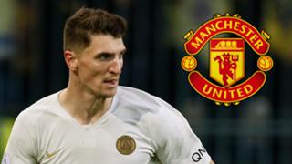 Meunier, Man Utd logo