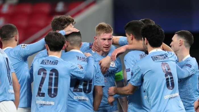 De Bruyne Manchester City Borussia Monchengladbach 2021