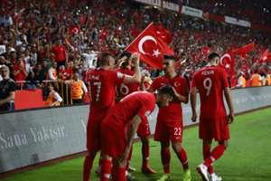 Turkey France Goal Celebration Euro 2020 Qualifications 06/08/19