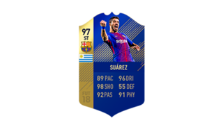 FIFA 18 Ultimate Team of the Season Luis Suarez