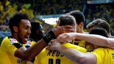 Borussia Dortmund celebrates Bundesliga 050617