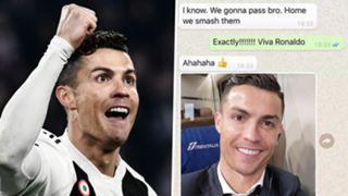 Cristiano Ronaldo Patrice Evra
