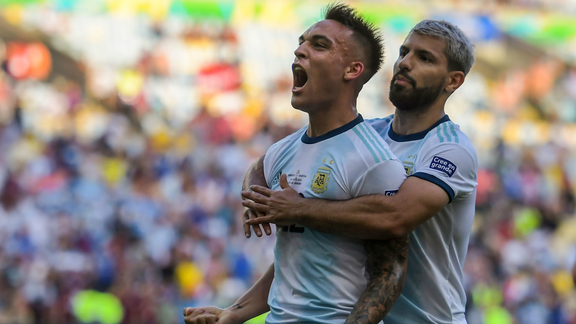 Forget Messi, here's Martinez! Inter star is Argentina's new hero ...