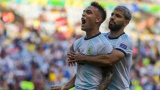 Lautaro Martínez Aguero Argentina Venezuela Copa America 28062019