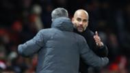 Jose Mourinho Pep Guardiola Premier League 2017-18
