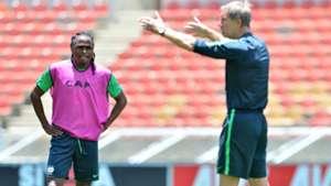 Bafana Bafana, Siphiwe Tshabalala & Stuart Baxter