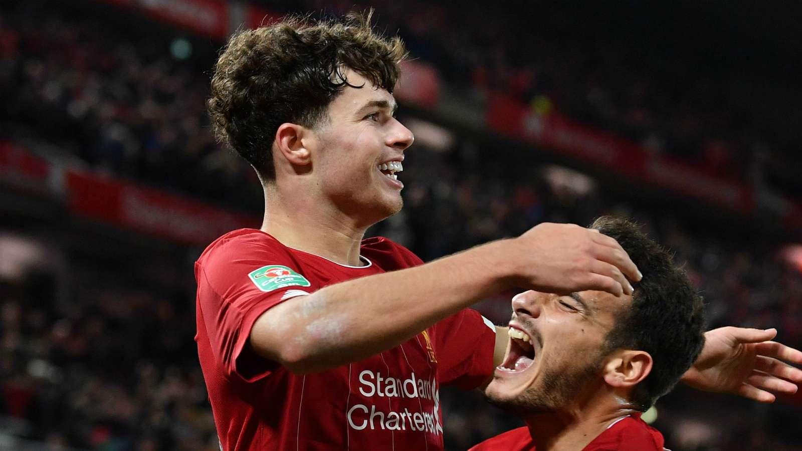 Neco Williams Liverpool 2019-20