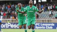 Nicholas Kipkirui and Jacques Tuyisenge of Gor Mahia.