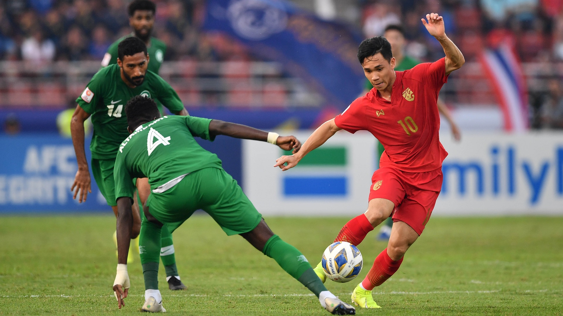 Supachok Sarachat | U23 Thailand vs U23 Saudi Arabia | AFC U23 Championship 2020 | Quarter Finals