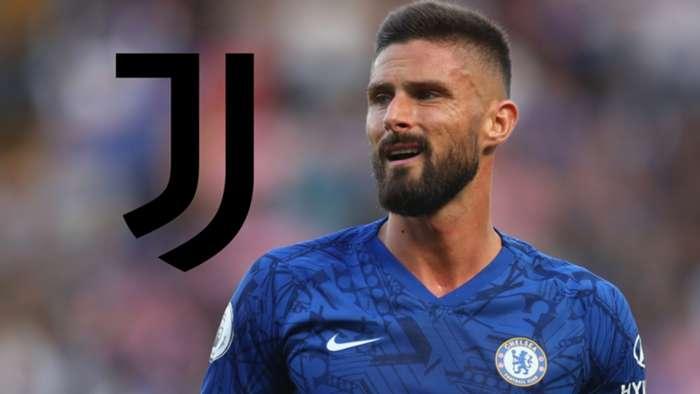 Olivier Giroud Chelsea Juventus 2019-20