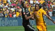 Happy Jele and Siphiwe Tshabalala - Kaizer Chiefs v Orlando Pirates
